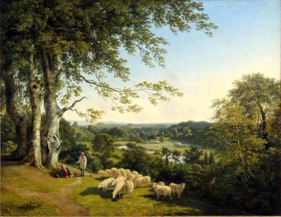 农村生活场景,爱尔兰画家威廉·穆雷迪插图3