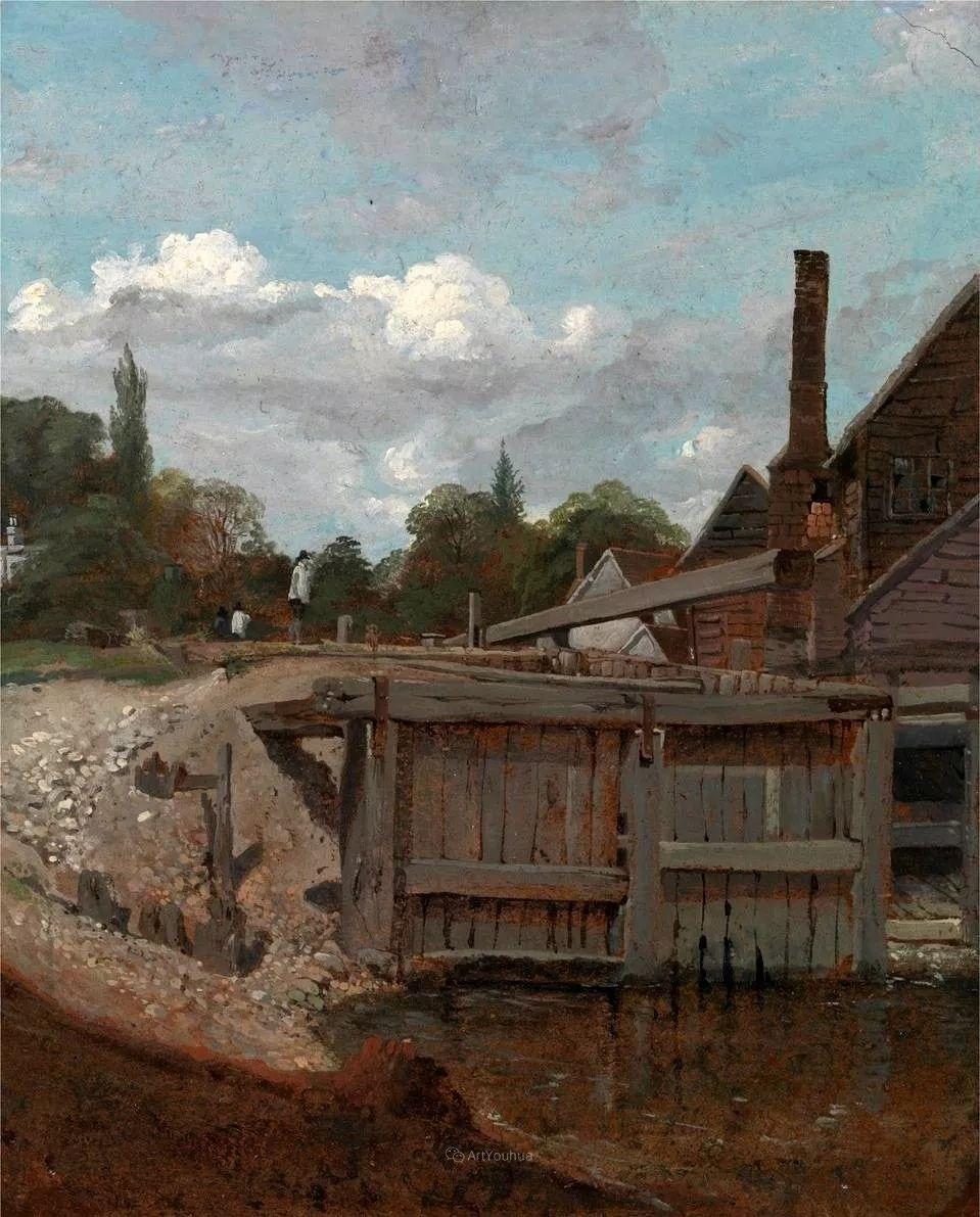 农村生活场景,爱尔兰画家威廉·穆雷迪插图8