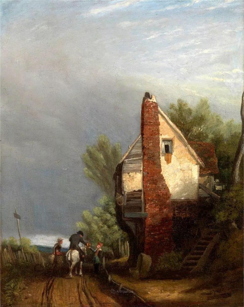 农村生活场景,爱尔兰画家威廉·穆雷迪插图12