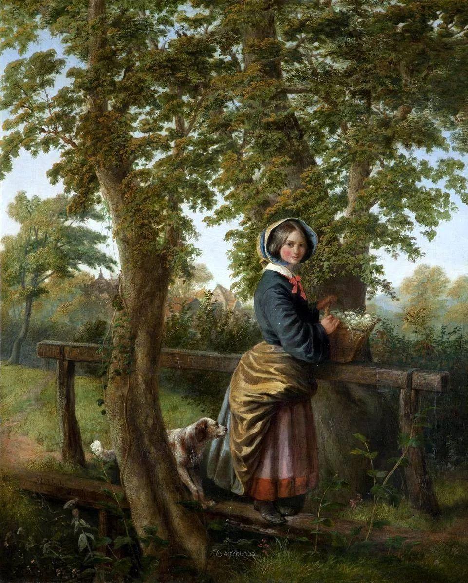 农村生活场景,爱尔兰画家威廉·穆雷迪插图16