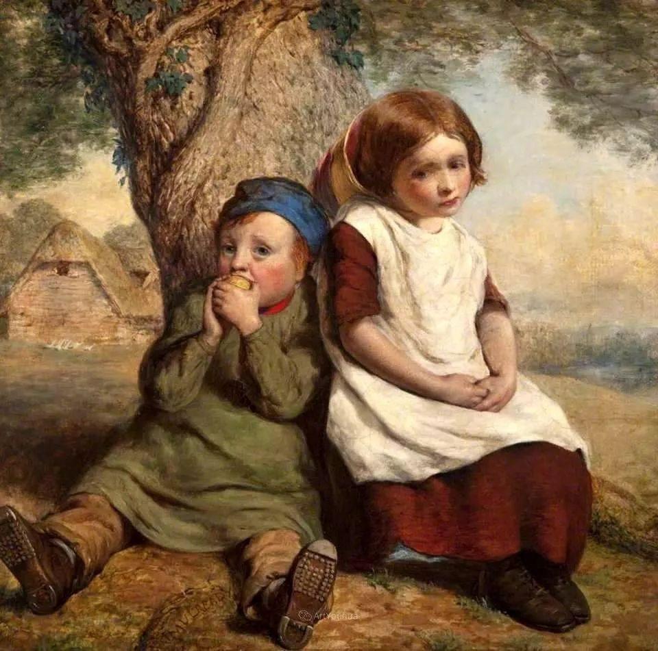 农村生活场景,爱尔兰画家威廉·穆雷迪插图18
