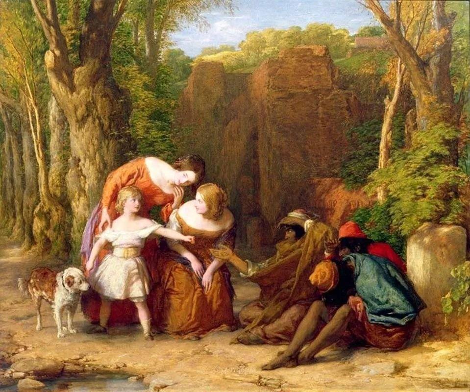 农村生活场景,爱尔兰画家威廉·穆雷迪插图21