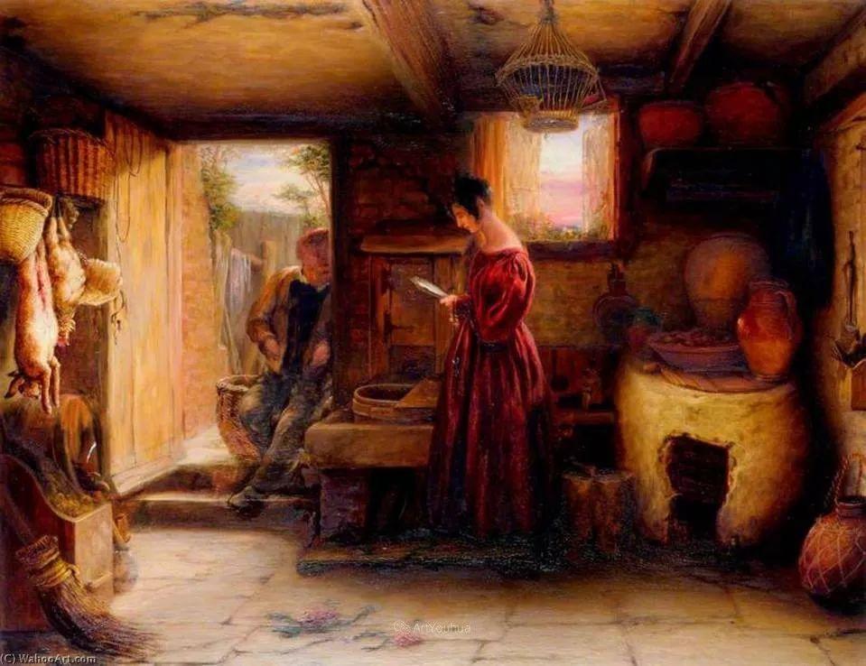 农村生活场景,爱尔兰画家威廉·穆雷迪插图23