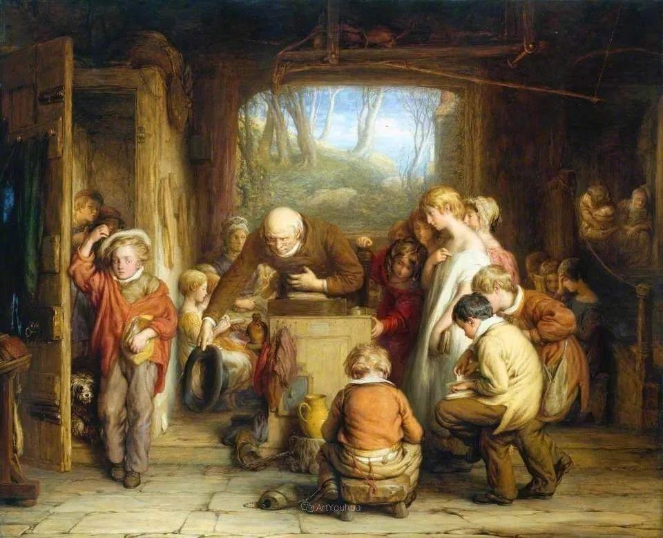 农村生活场景,爱尔兰画家威廉·穆雷迪插图31