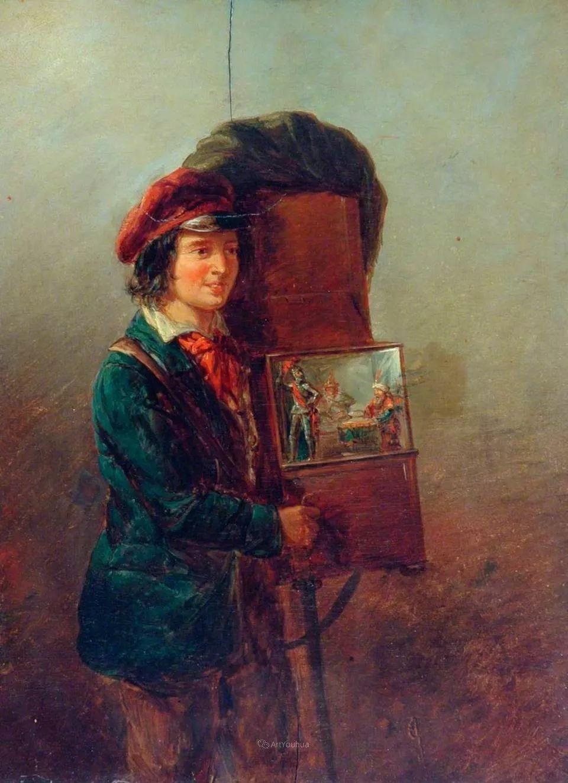 农村生活场景,爱尔兰画家威廉·穆雷迪插图33