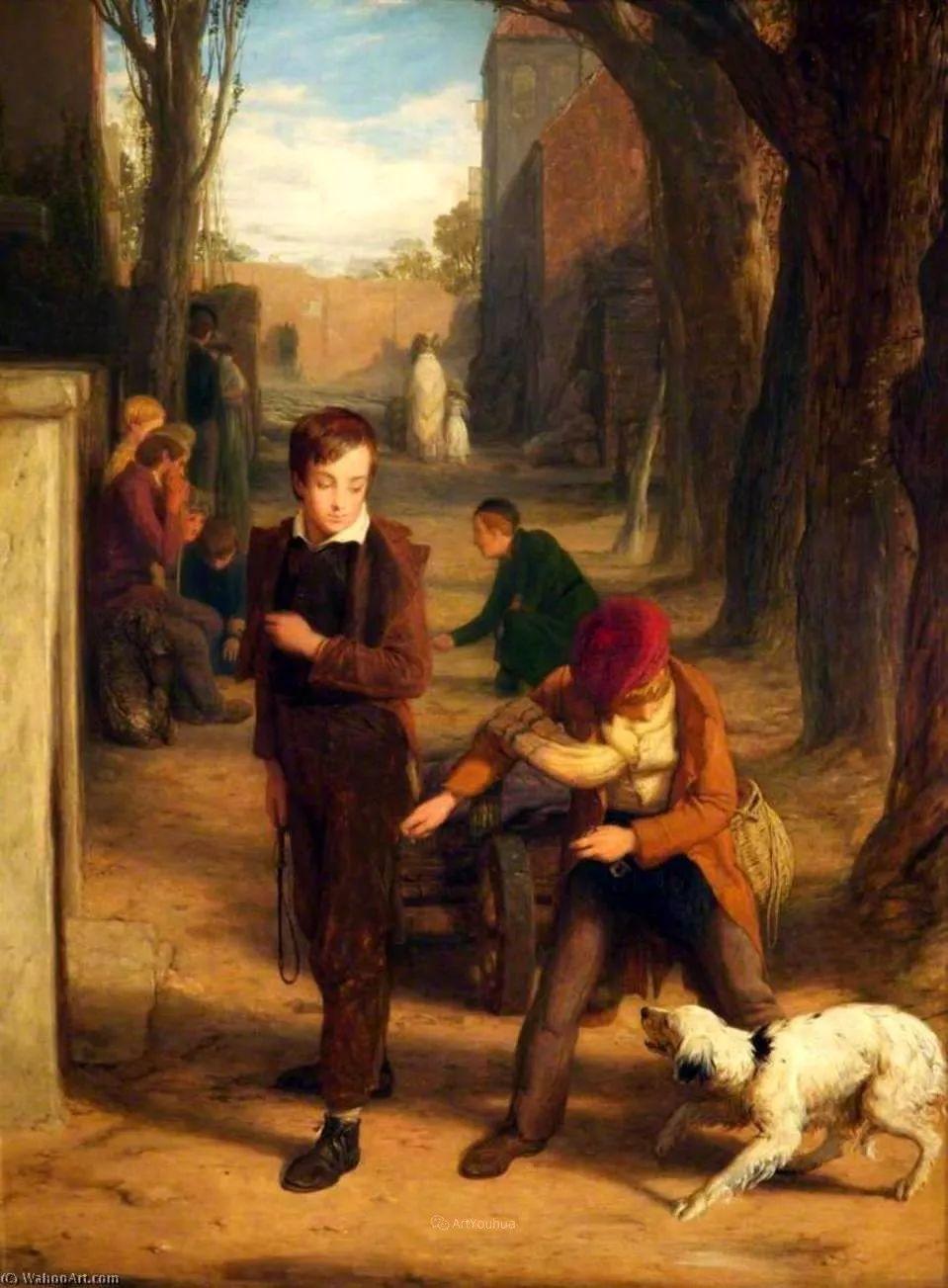 农村生活场景,爱尔兰画家威廉·穆雷迪插图35