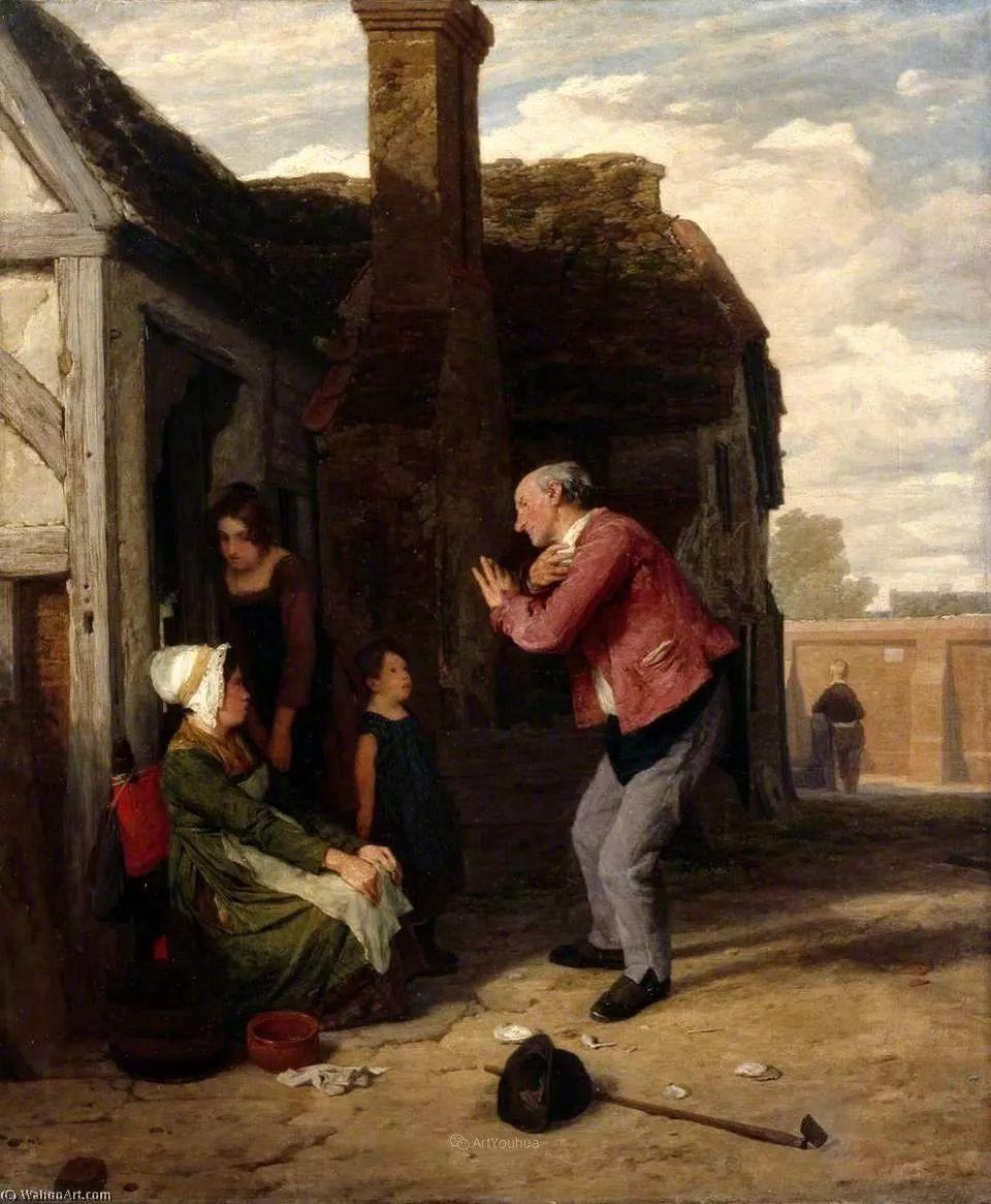 农村生活场景,爱尔兰画家威廉·穆雷迪插图40