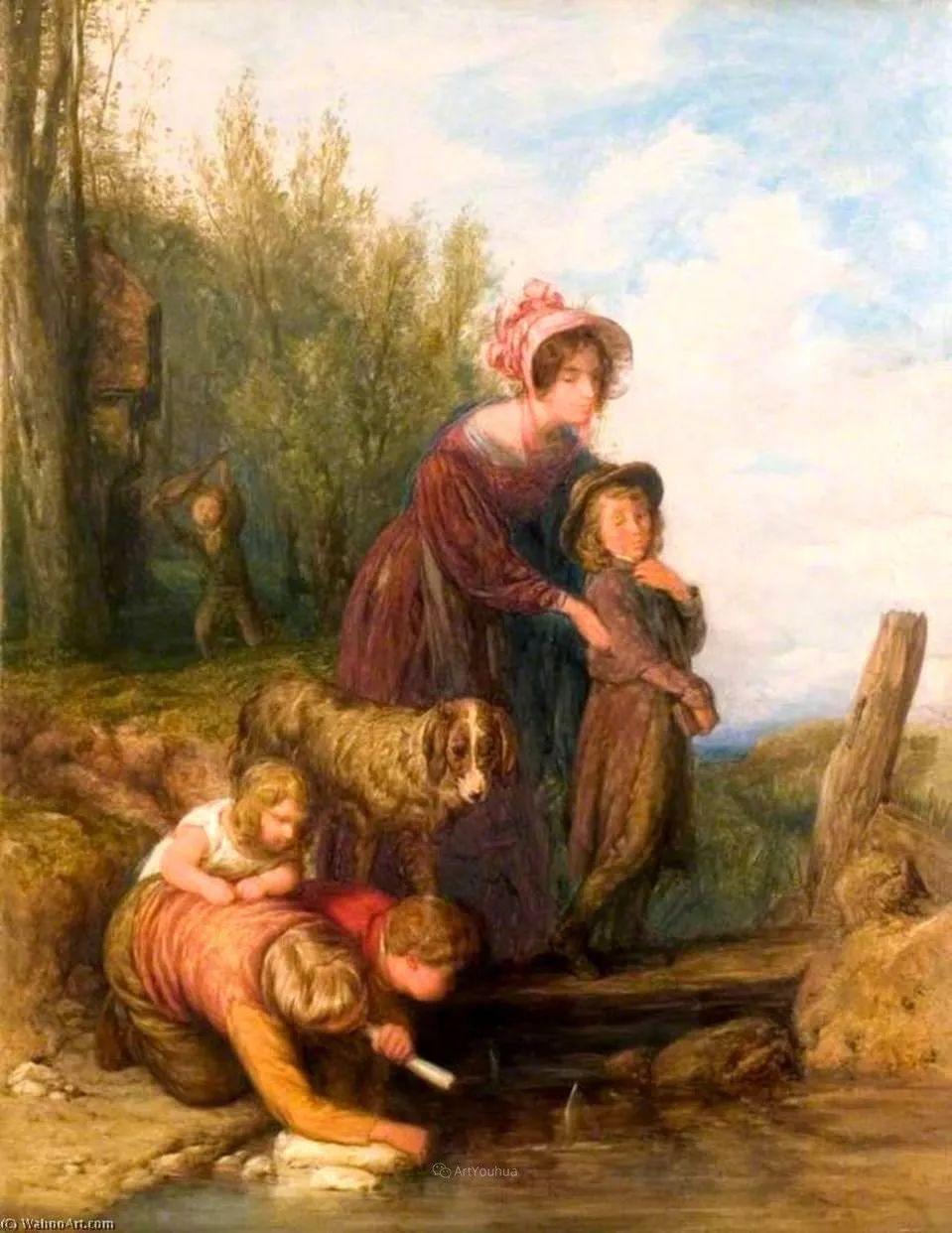 农村生活场景,爱尔兰画家威廉·穆雷迪插图41