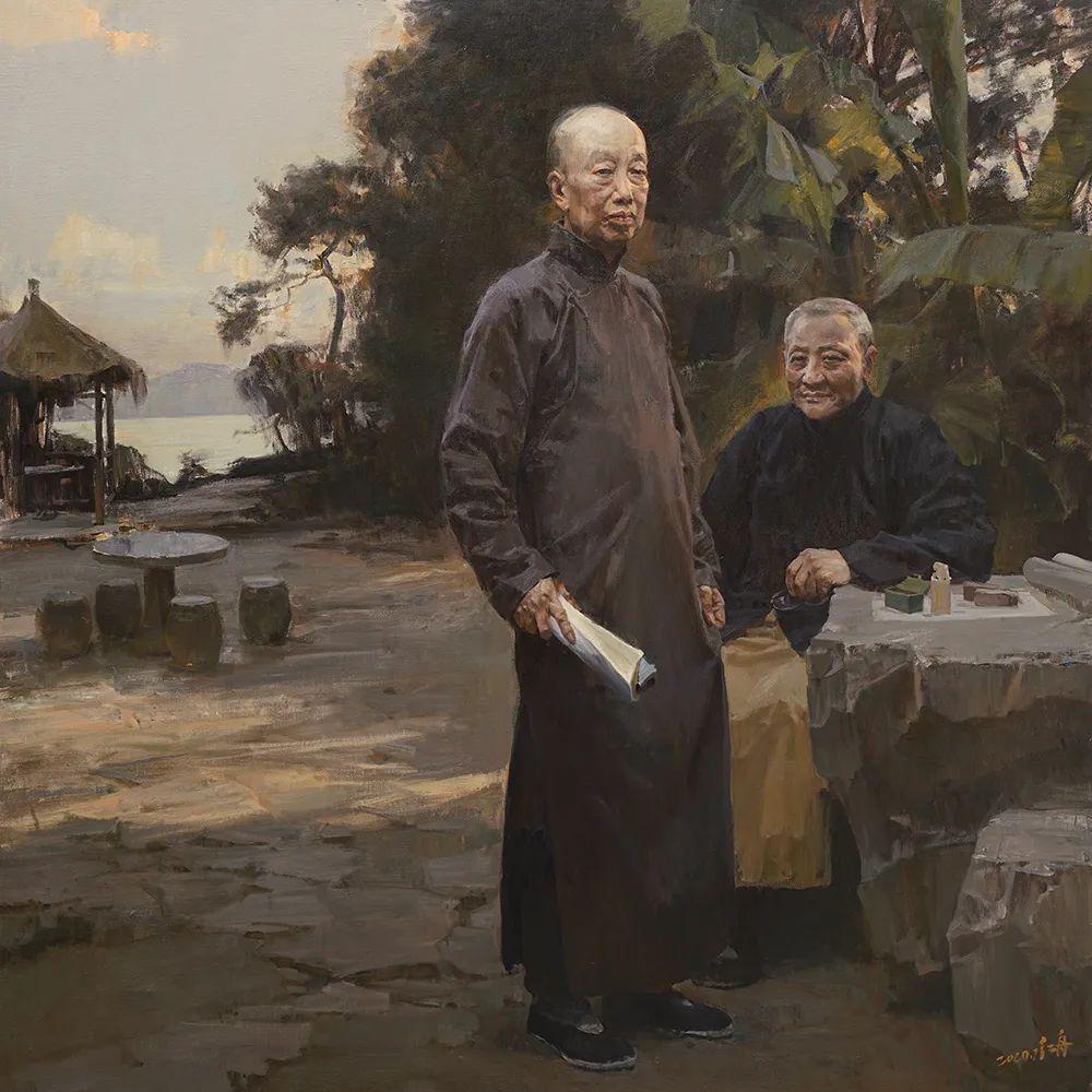 中国写实画派2020年展插图115