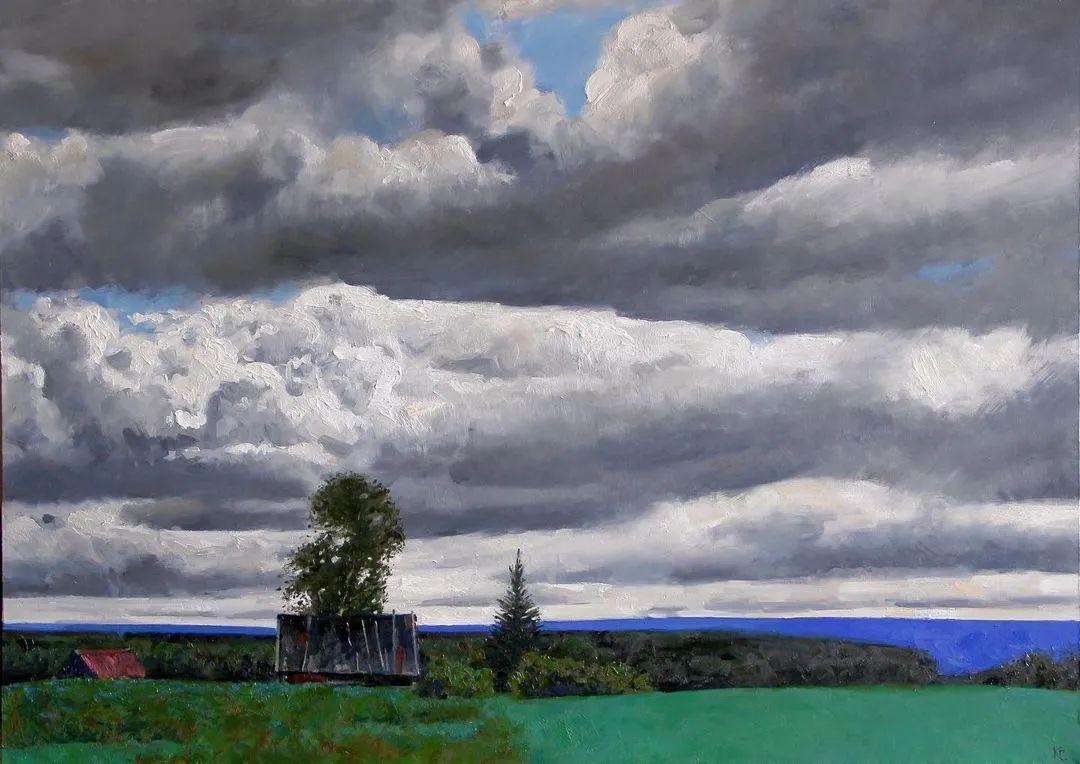 风景与人物,列宾美院教授康斯坦丁·格拉切夫插图37