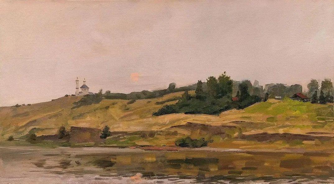 风景与人物,列宾美院教授康斯坦丁·格拉切夫插图47