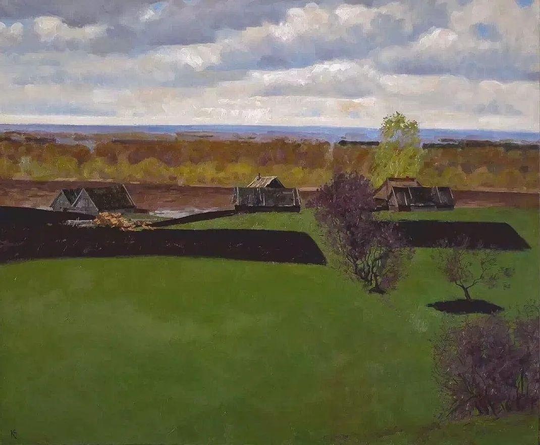 风景与人物,列宾美院教授康斯坦丁·格拉切夫插图49