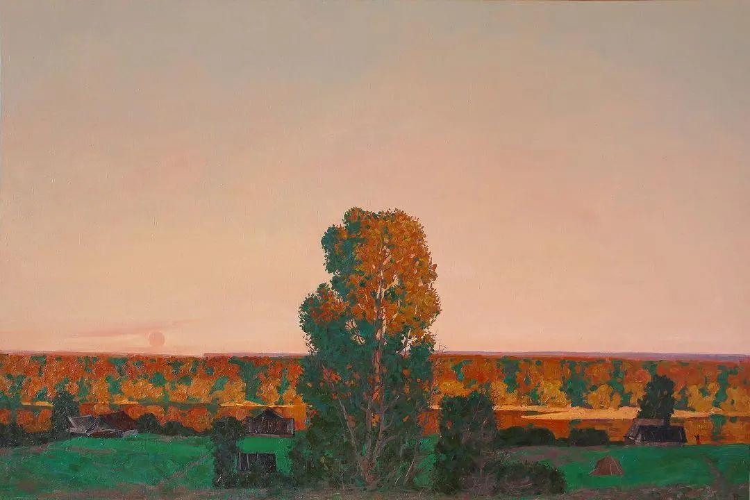 风景与人物,列宾美院教授康斯坦丁·格拉切夫插图59