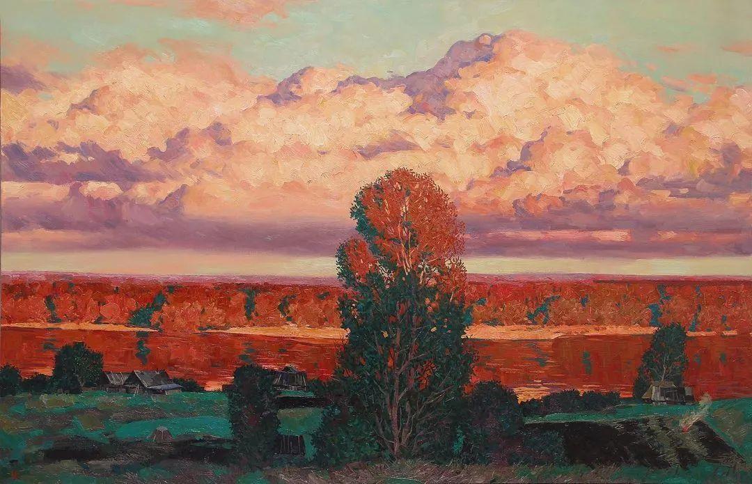风景与人物,列宾美院教授康斯坦丁·格拉切夫插图61