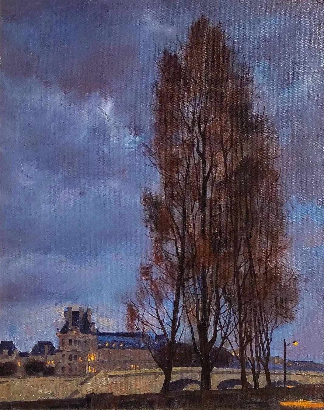 风景与人物,列宾美院教授康斯坦丁·格拉切夫插图67