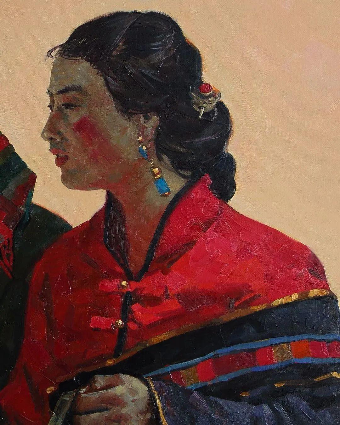 风景与人物,列宾美院教授康斯坦丁·格拉切夫插图89