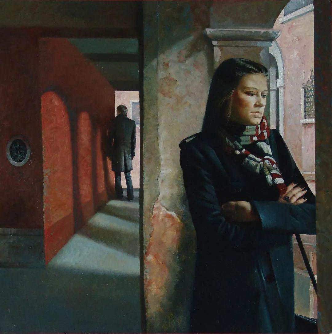 风景与人物,列宾美院教授康斯坦丁·格拉切夫插图107