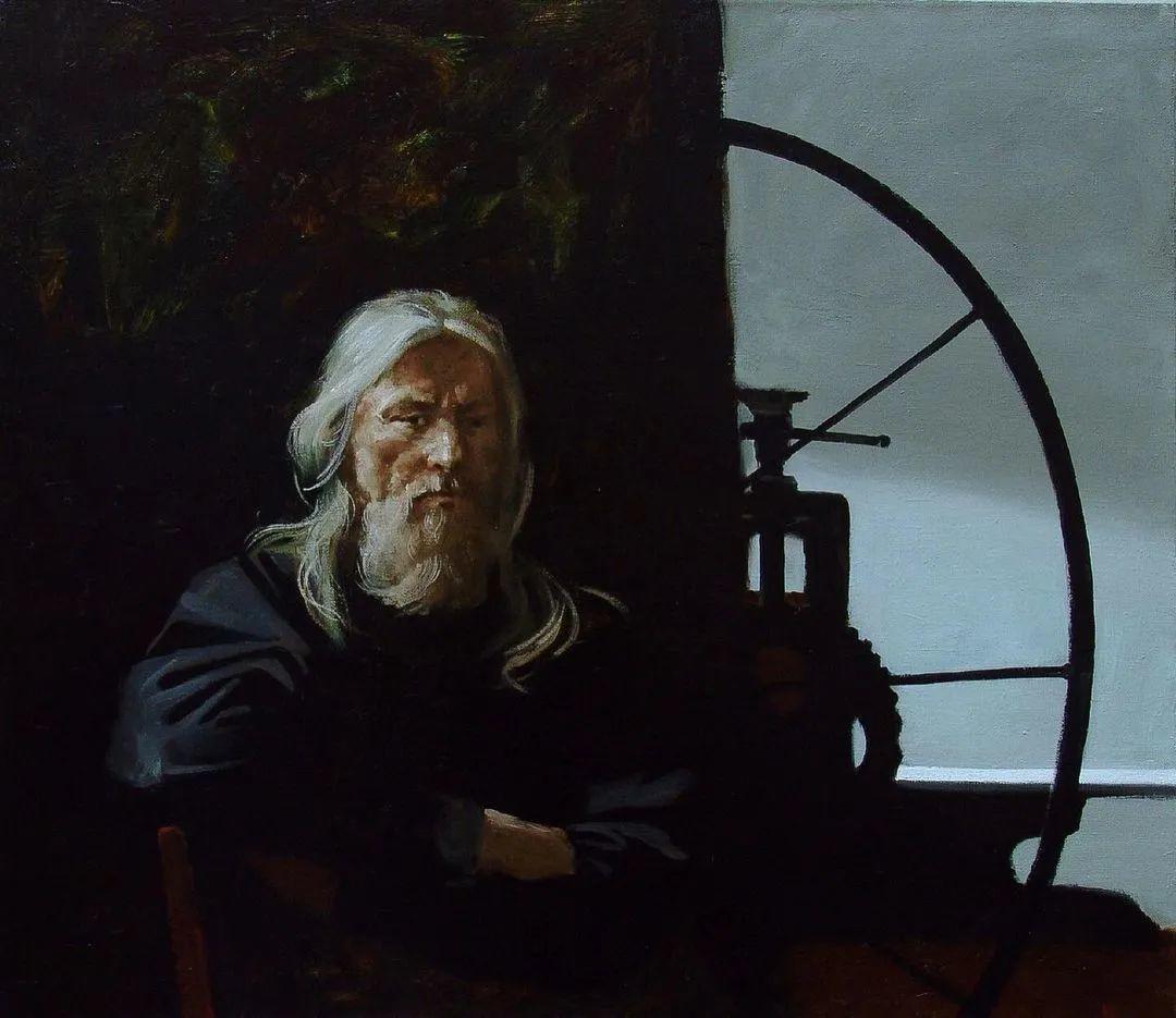 风景与人物,列宾美院教授康斯坦丁·格拉切夫插图117