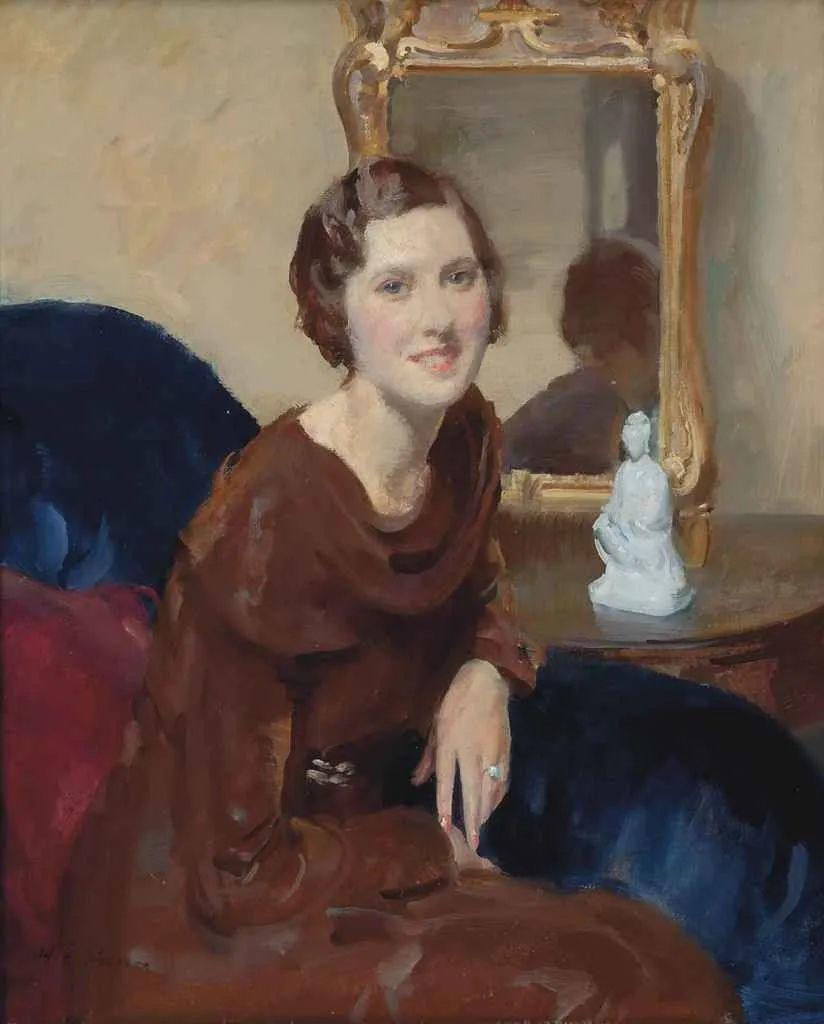 柔和流畅的绘画风格,年轻女性的肖像!插图2
