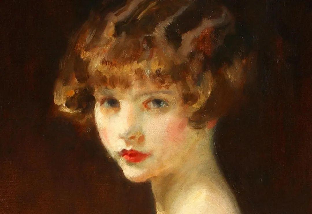 柔和流畅的绘画风格,年轻女性的肖像!插图6