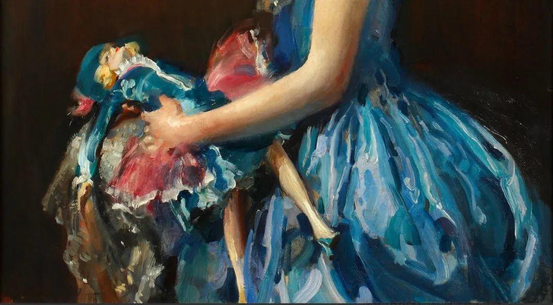 柔和流畅的绘画风格,年轻女性的肖像!插图8