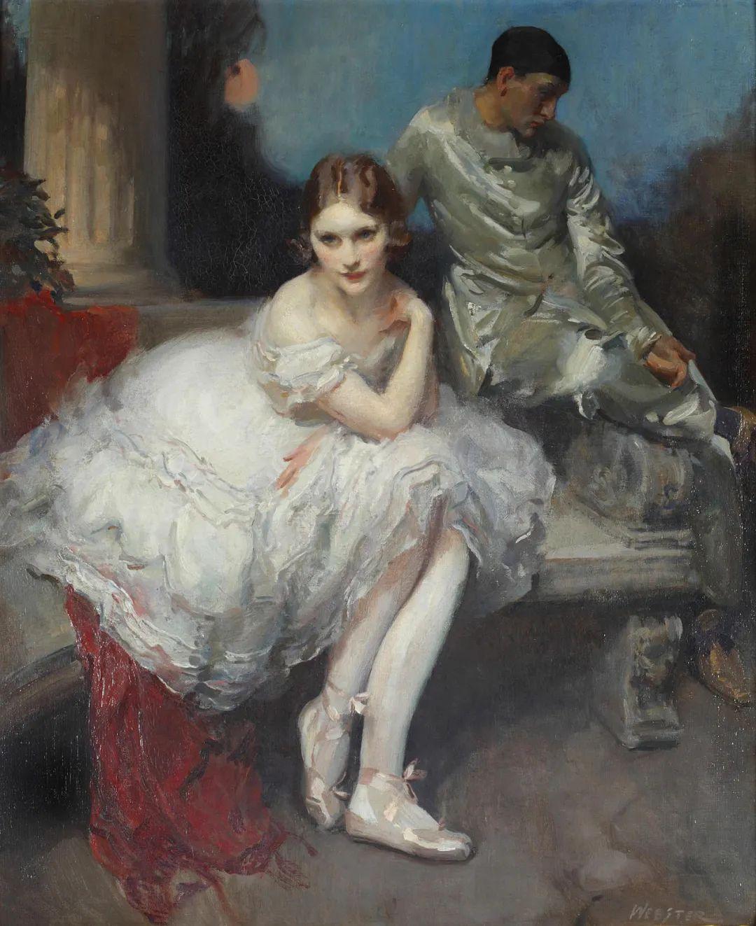 柔和流畅的绘画风格,年轻女性的肖像!插图18