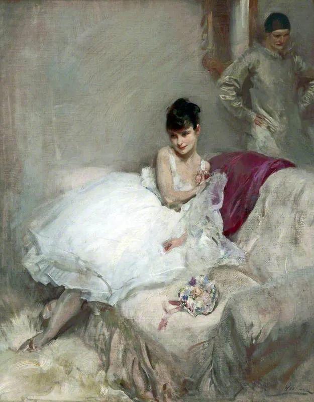 柔和流畅的绘画风格,年轻女性的肖像!插图20