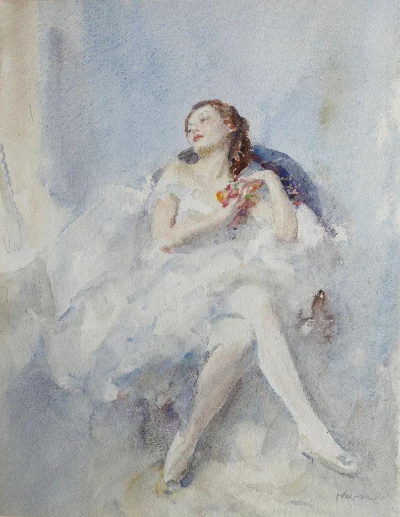 柔和流畅的绘画风格,年轻女性的肖像!插图27