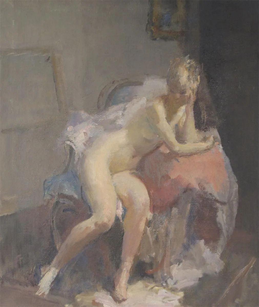 柔和流畅的绘画风格,年轻女性的肖像!插图28