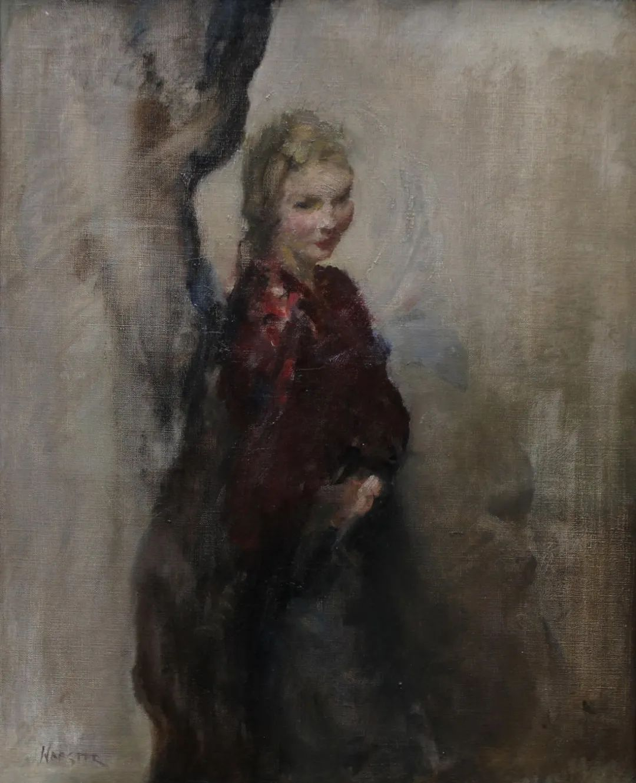 柔和流畅的绘画风格,年轻女性的肖像!插图33