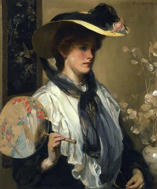 柔和流畅的绘画风格,年轻女性的肖像!插图35