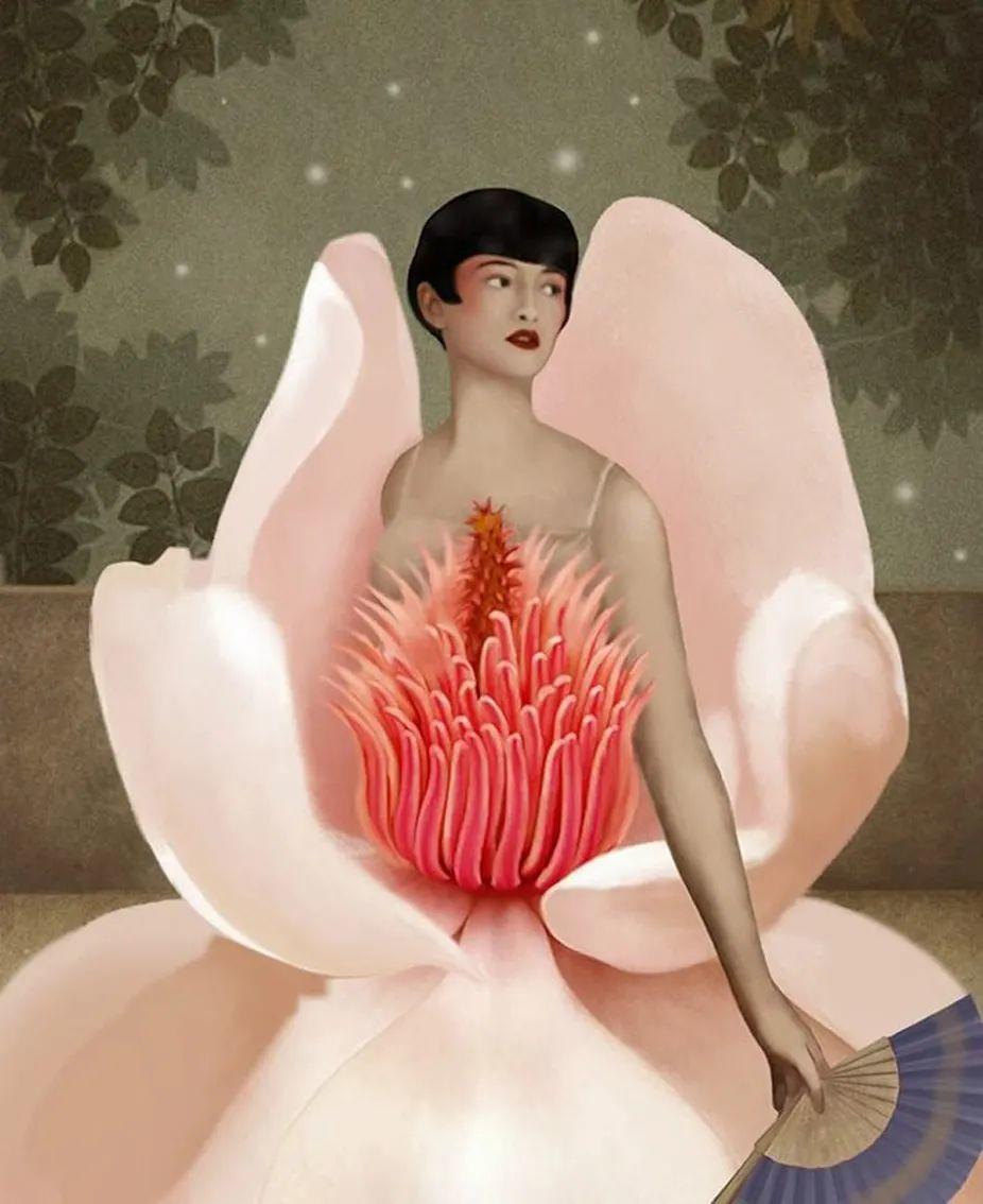 超现实的、空灵的女性形象插图1