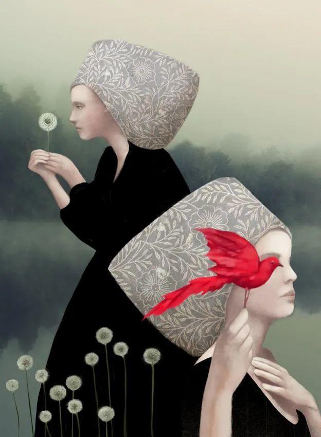 超现实的、空灵的女性形象插图3