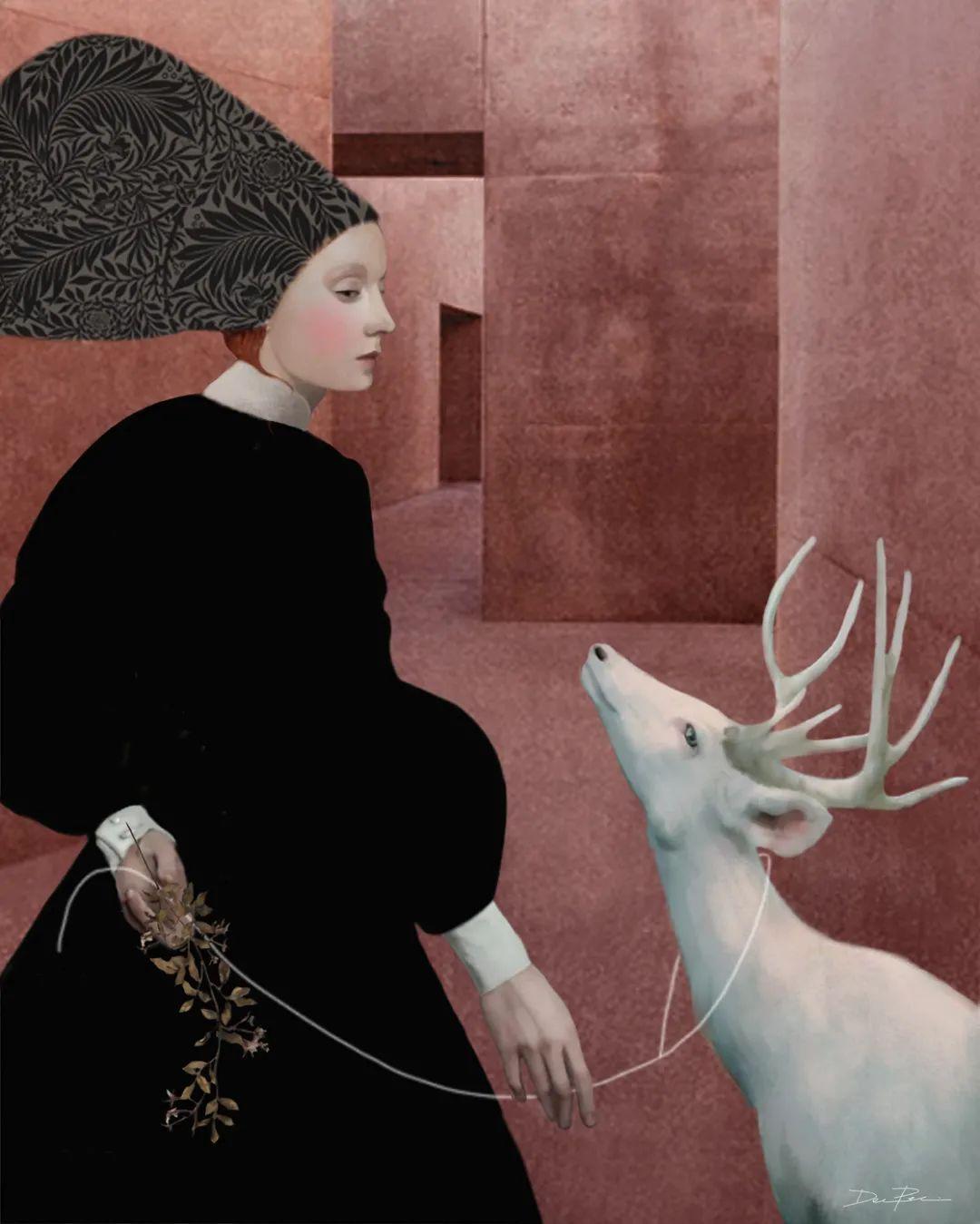 超现实的、空灵的女性形象插图5
