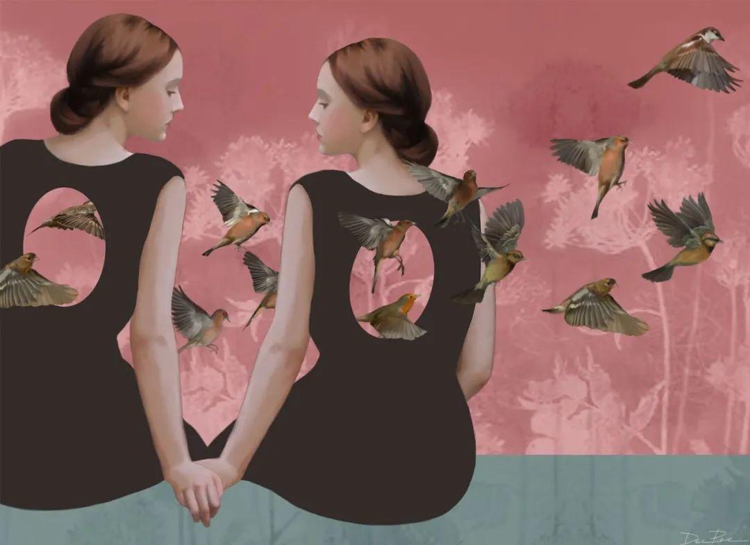 超现实的、空灵的女性形象插图7
