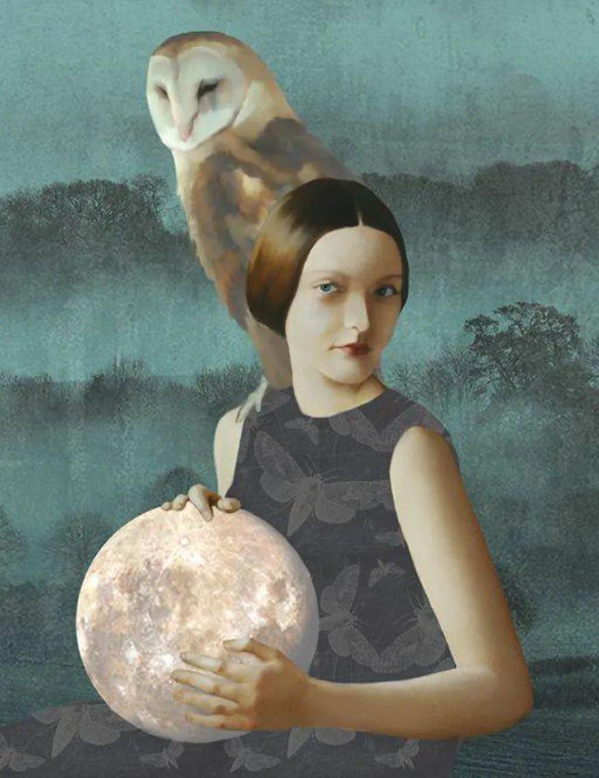 超现实的、空灵的女性形象插图25