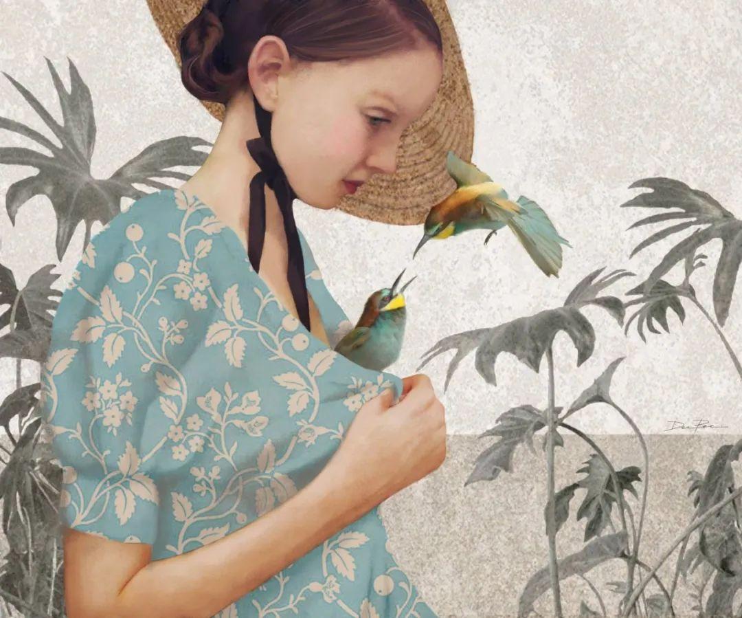 超现实的、空灵的女性形象插图29
