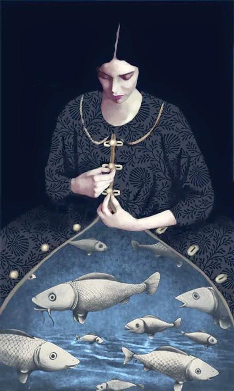 超现实的、空灵的女性形象插图31
