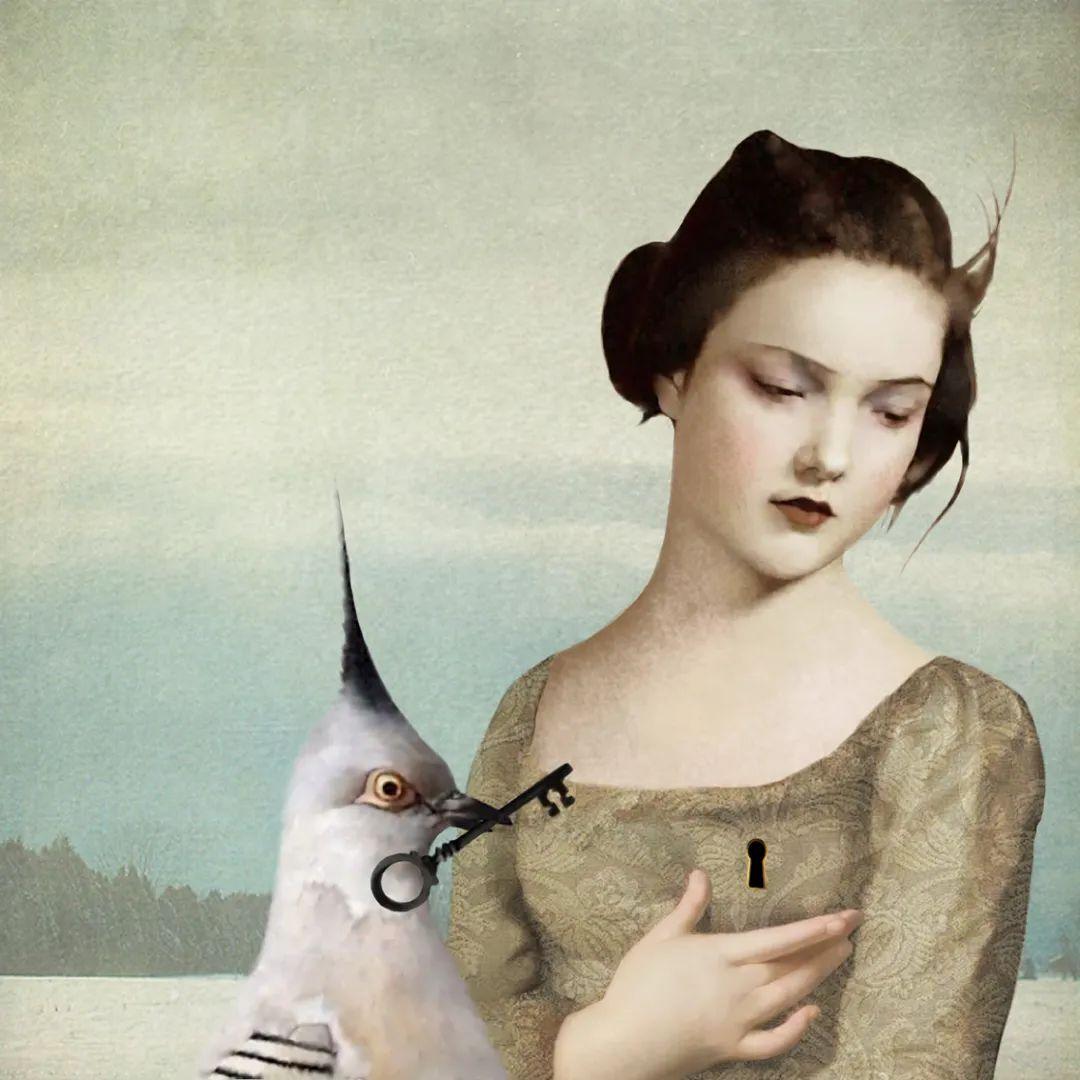 超现实的、空灵的女性形象插图33