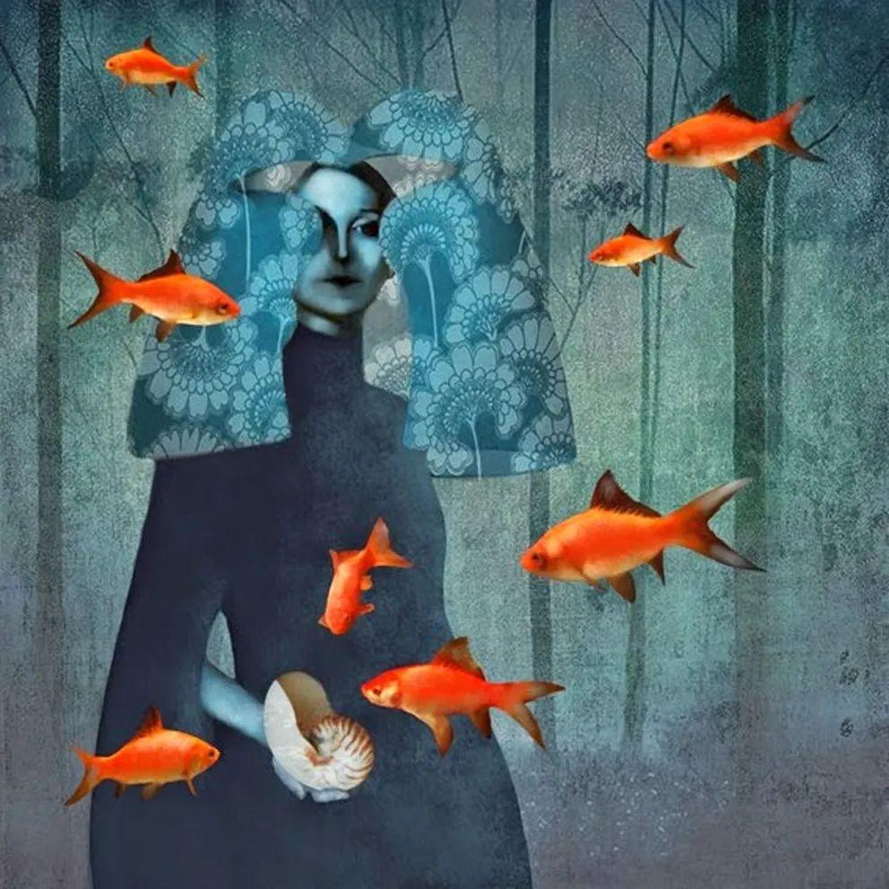 超现实的、空灵的女性形象插图35