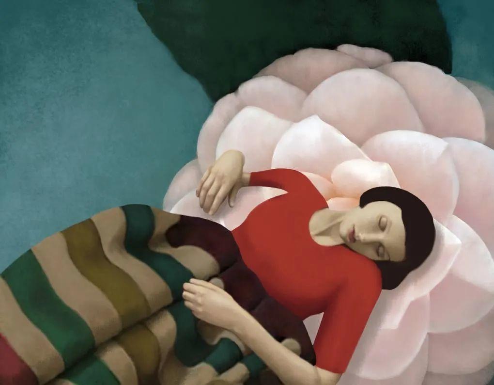 超现实的、空灵的女性形象插图39