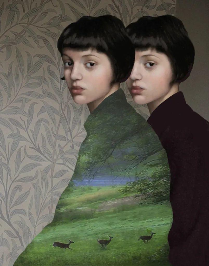 超现实的、空灵的女性形象插图41