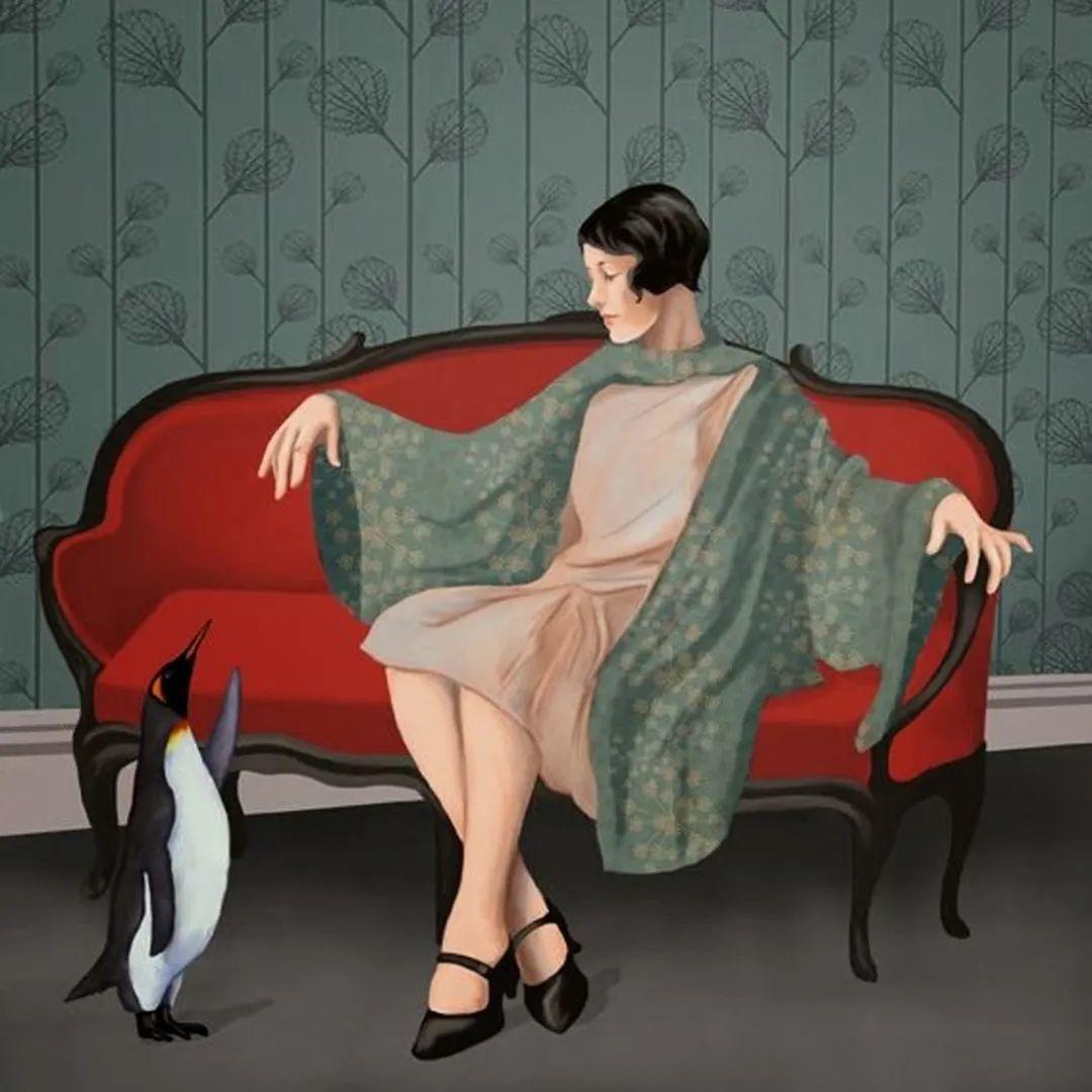 超现实的、空灵的女性形象插图43