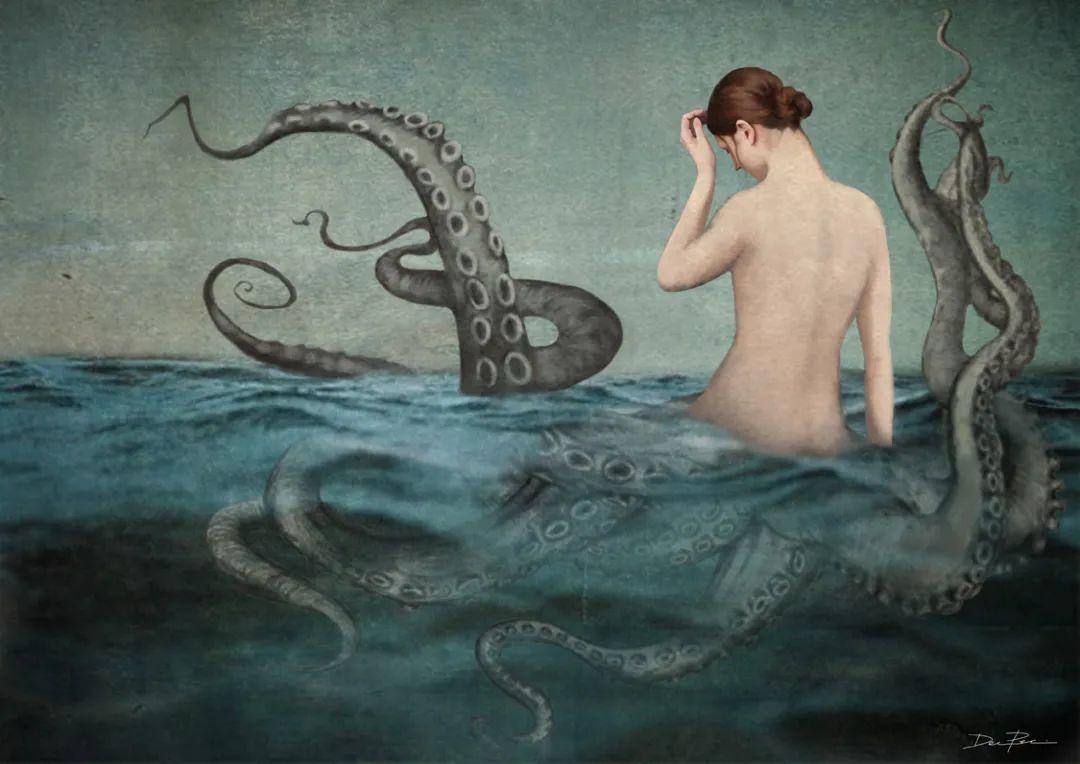 超现实的、空灵的女性形象插图45