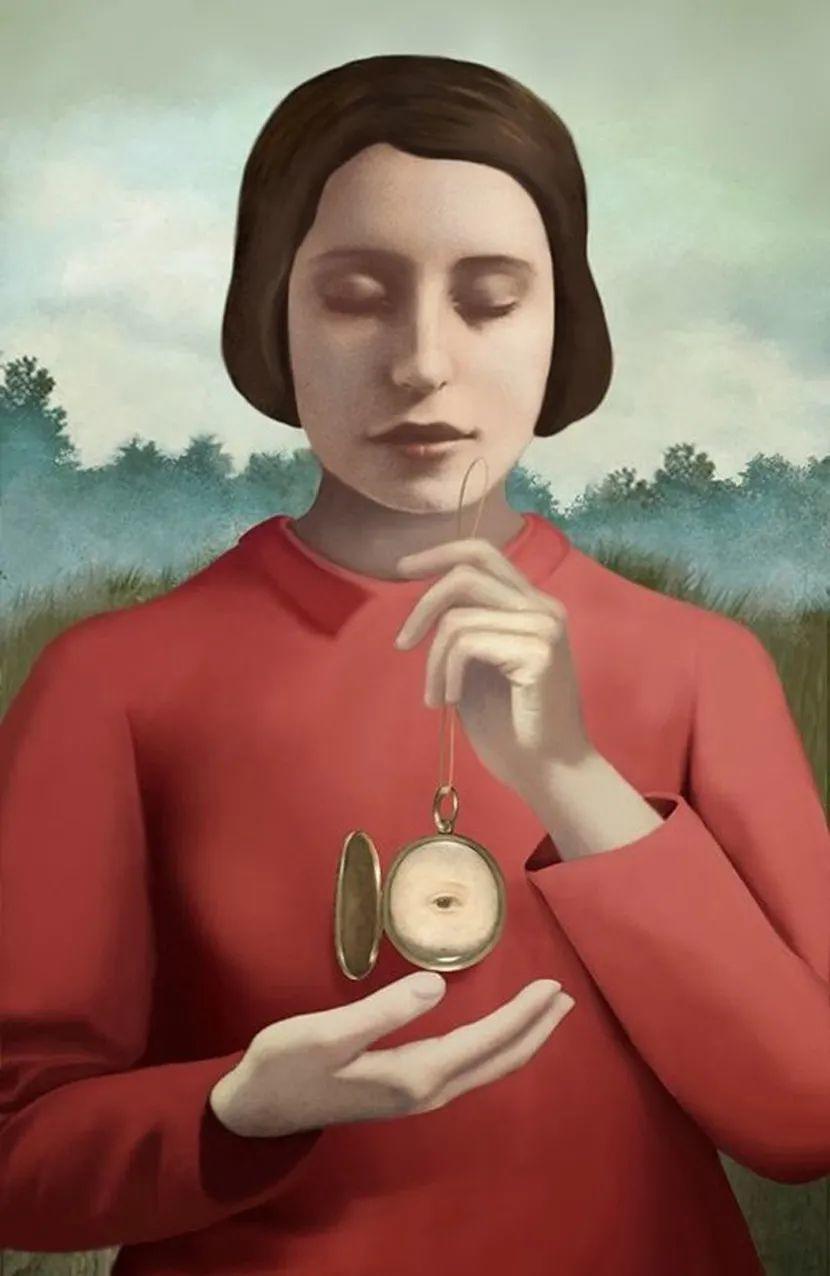 超现实的、空灵的女性形象插图47