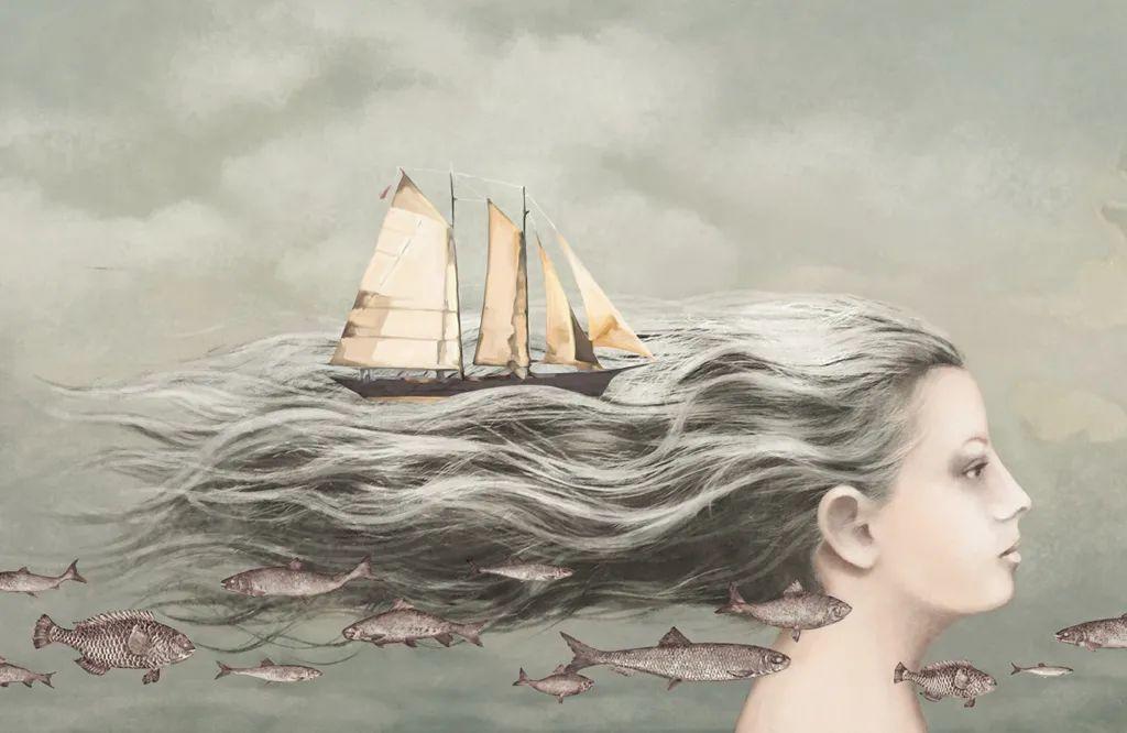 超现实的、空灵的女性形象插图49