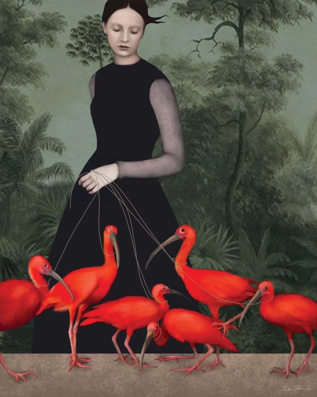 超现实的、空灵的女性形象插图55