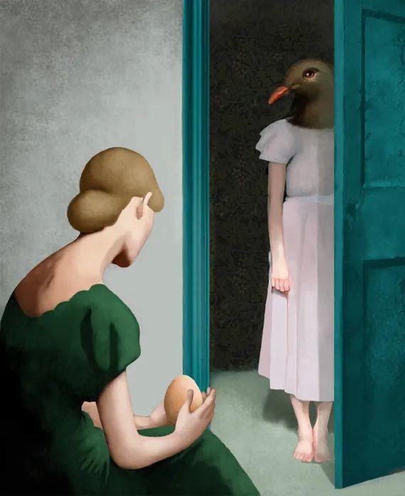 超现实的、空灵的女性形象插图61