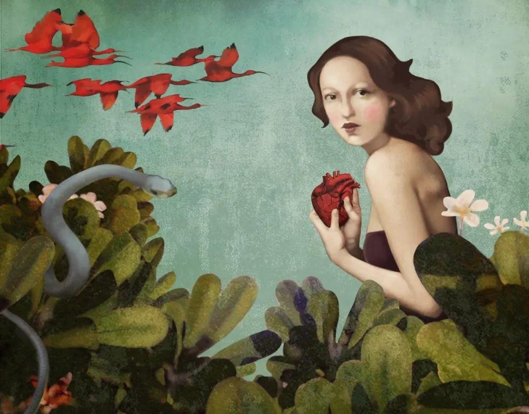 超现实的、空灵的女性形象插图63