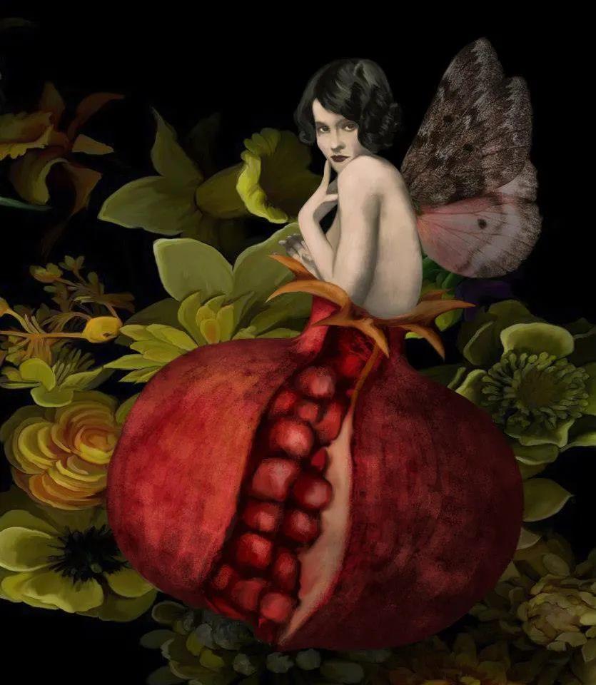 超现实的、空灵的女性形象插图67